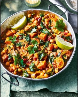 Sweet Potato Curry Meal Prep Weight Loss