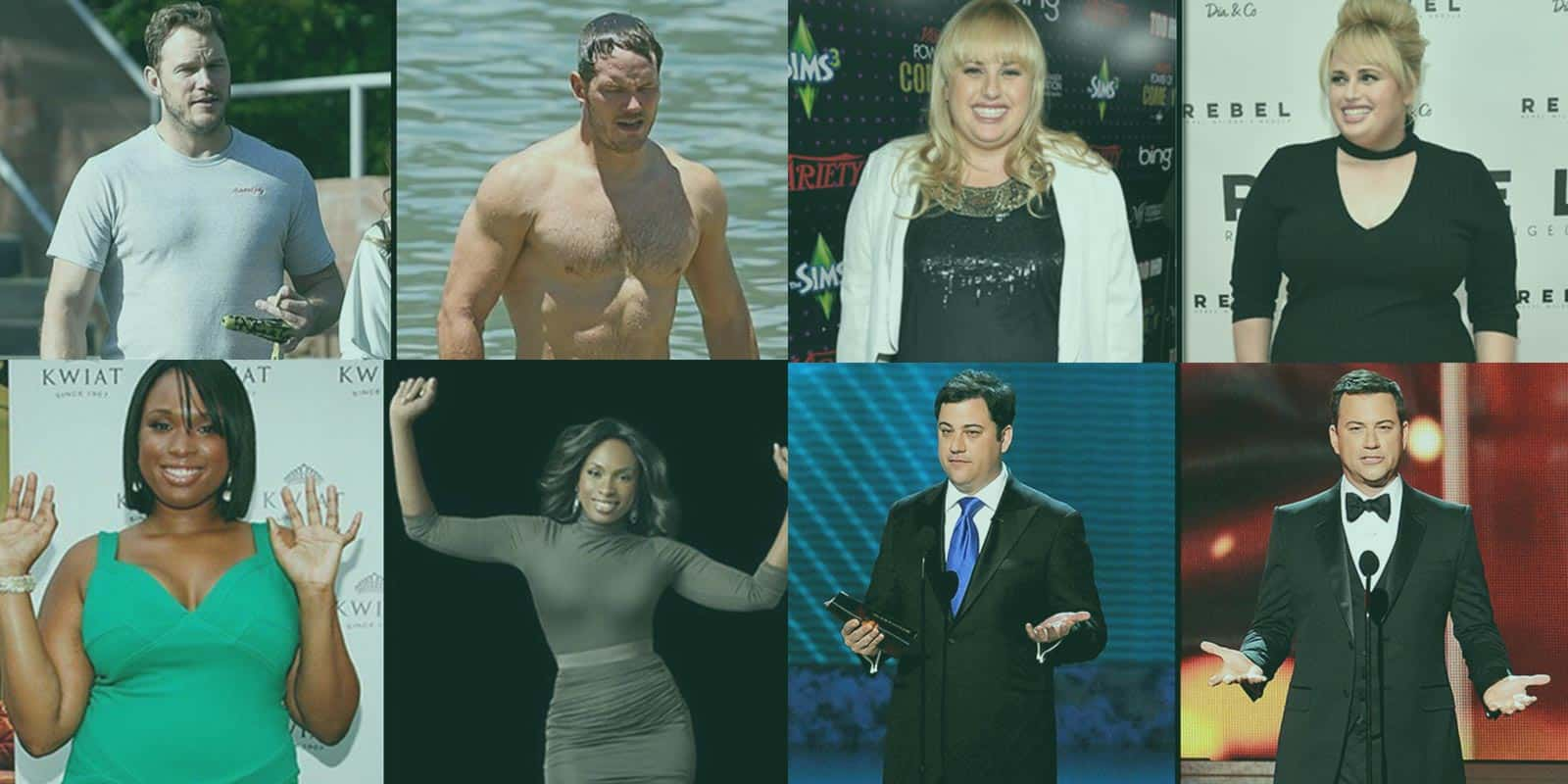 Celebrity weight loss success stories