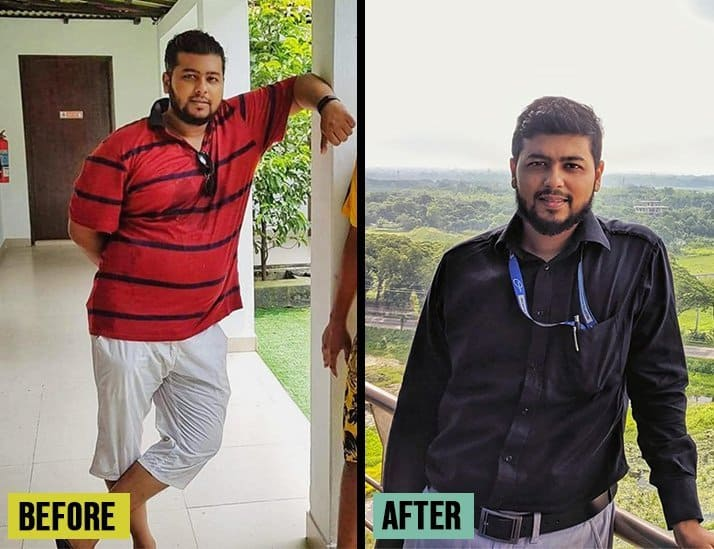 Intermittent fasting weight loss results before and after