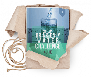 21 day drink only water challenge