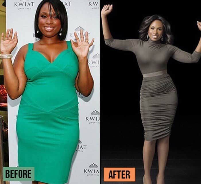 Jennifer Hudson before and after Weight Loss Success Stories