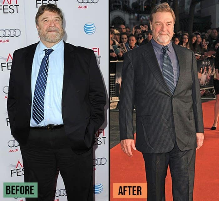 John Goodman weight loss transformation before and after