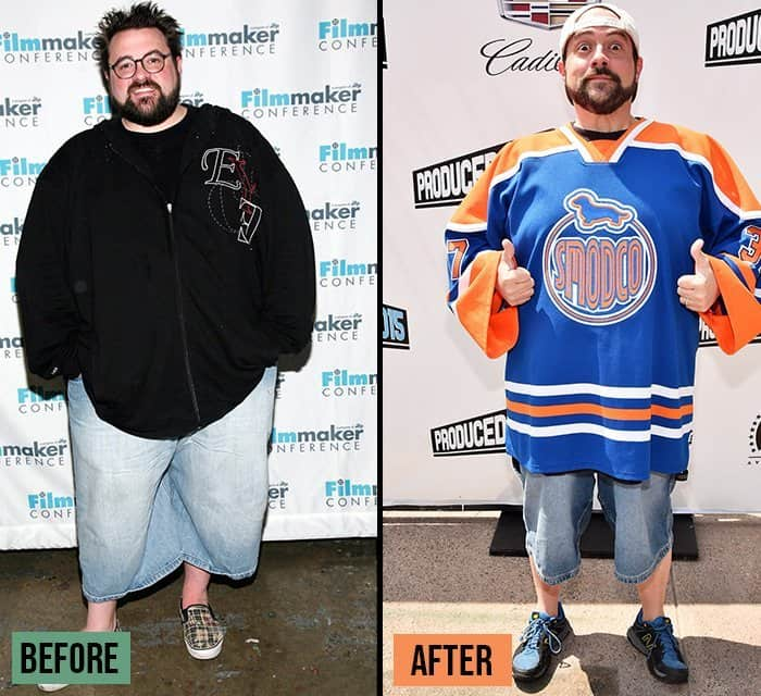 Kevin Smith weight loss before and after story