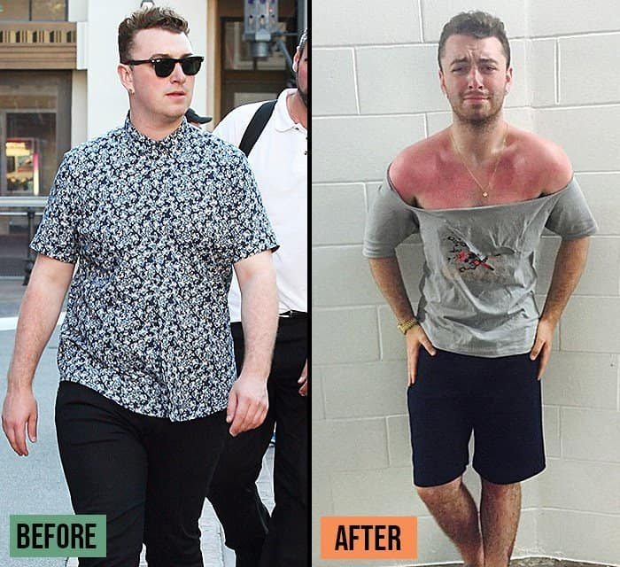 Weight Loss Success Stories Sam Smith before and after