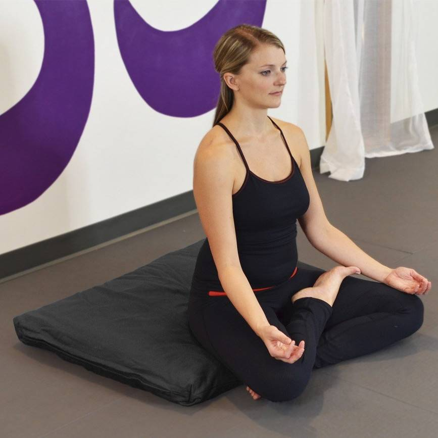 Comfortable meditation mat Zabuton