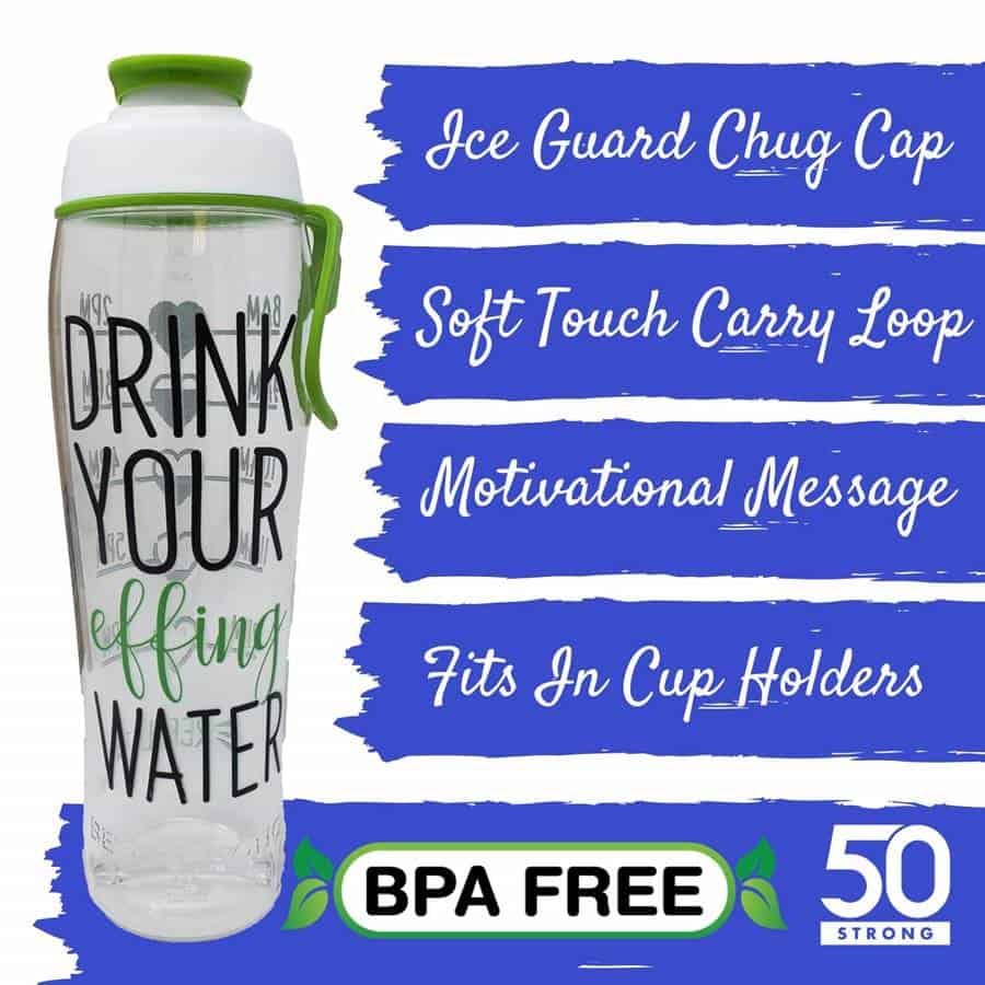 Fasting gifts water bottle