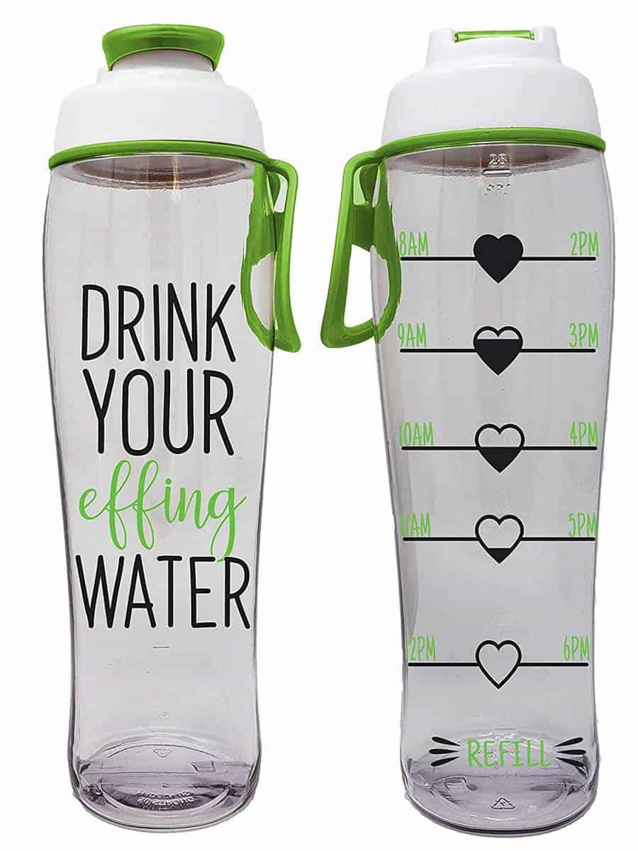 gifts for people who do keto and intermittent fasting reusable water bottle