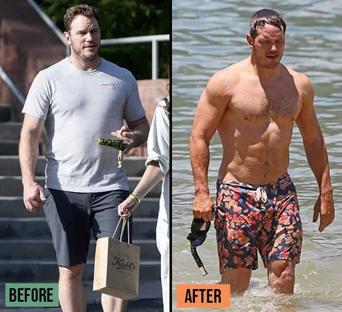 Chris Pratt Weight Loss Success Stories