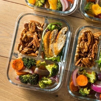 How to meal prep for weight loss