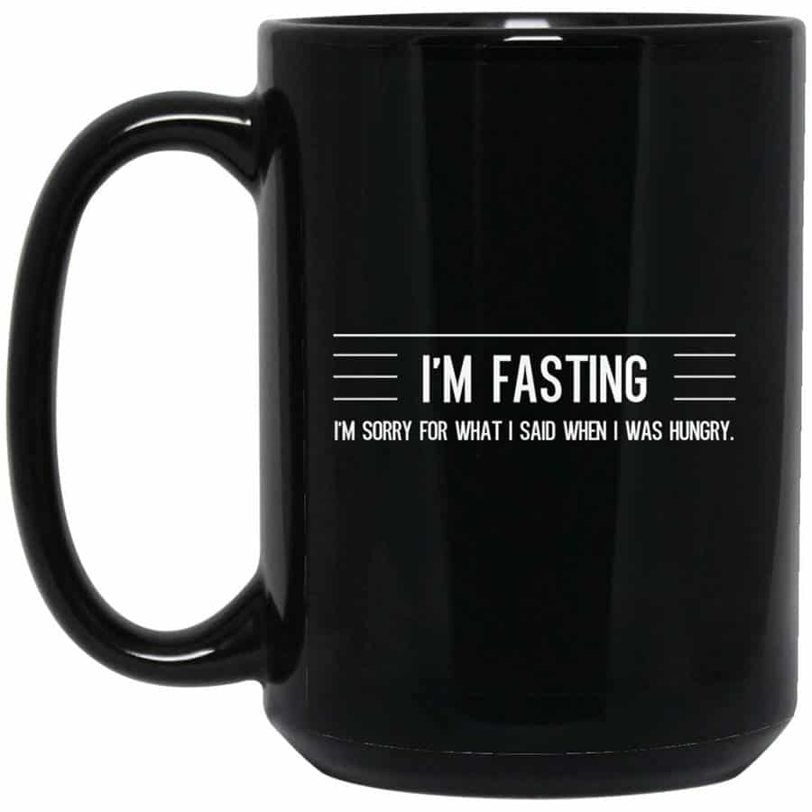 Intermittent fasting holiday gift cup
