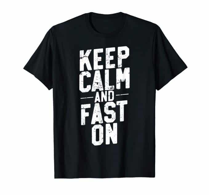 Intermittent fasting and keto gifts t-shirt