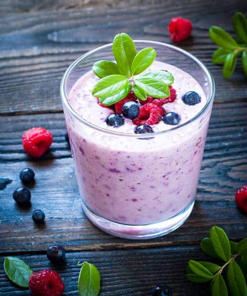 Berry weight loss smoothie