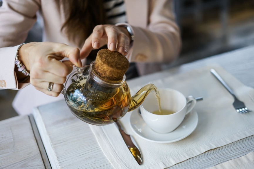 green tea intermittent fasting