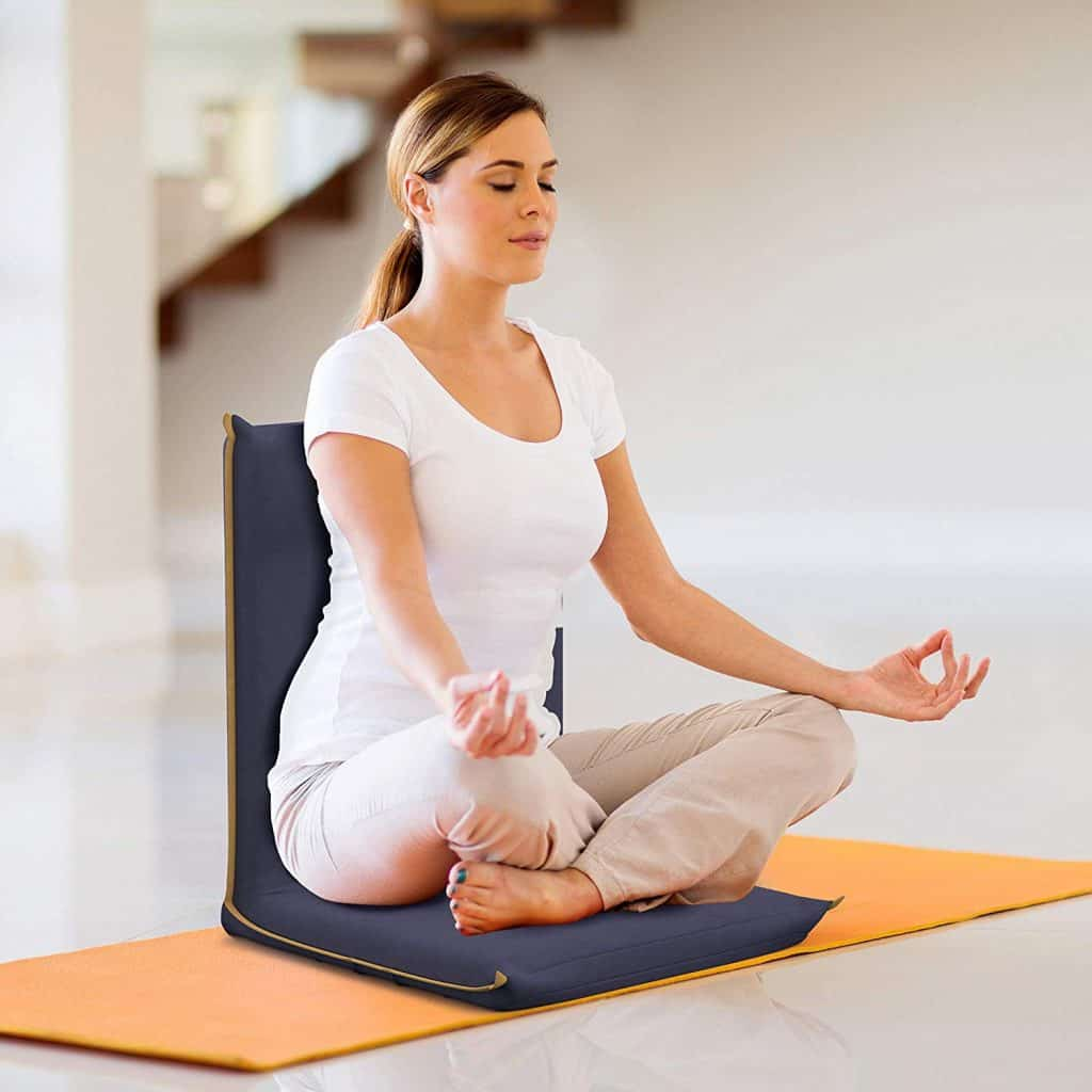 the best meditation floor chair